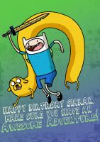 Birthday Adventure Time by Rathan-Marxx