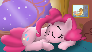 Sleeping Pinkie by tgolyi