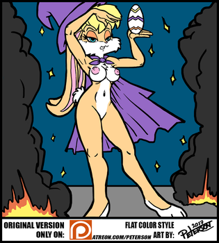 THE MAGIC OF THE EASTER - FLAT COLOR - PUBLIC by PetersonArt