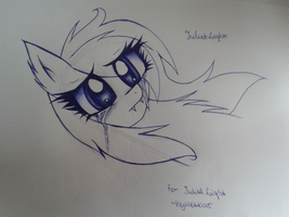 MLP FIM: Juliet Light by VioletDraw