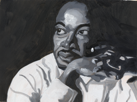 Martin Luther King Jr. by IkeDaArtist
