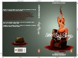 The Big Sleep. Penguin book cover by C-CLANCY