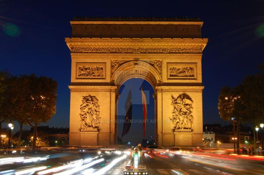 Arc de Triomphe by batusai316