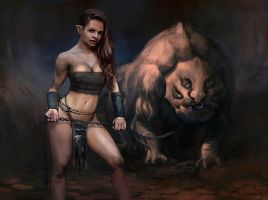 Beast trainer by kastep
