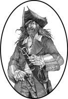 Pirate by Skirill