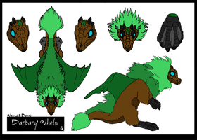 Barbary Whelp- Earth by Pure-Escapism