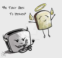 All Toast Goes to Heaven by Hopeofmysoul