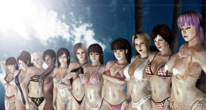 DOAX3 Wallpaper HD by EvilkaiUnlimited