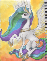 Princess Celestia by BenRusk