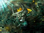 Midna in Twilight by CrimsinSight