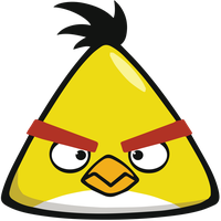 Angry Birds - Chuck (Yellow) - Super High Quality! by TomEFC98