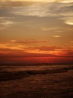 sunset on nuevo altata beach 10 by noohohIcant