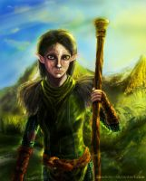 Dragon Age 2  Merrill by CaNDiDeR