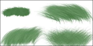 Grass Brushes 3 by Baringa-of-the-Wind