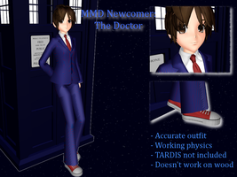 MMD Newcomer: The Doctor by LearnMMD