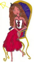 The Red Queen by Saraine