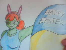 Happy Easter by Hewhouseice