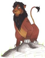 Simon the Lion by fanchielover15