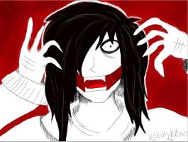 InSaNiTy - Jeff the Killer by xoKittyKatxo