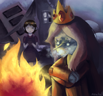 Ice King by Mewball