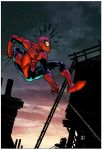 Spider-man by Zack Howard by Creation-Matrix