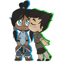 Borra Chibi Kiss by RingetteChic7