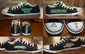 Green Day Shoes by JSevier