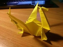 Origami dragon I by OldCook