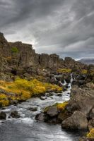 Icelandic Waterfall v.1 by duvessa2