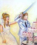 Cutting the Cake by atETemIaGArE