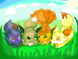 Fox pokemon by oXxSunlitRosesxXo