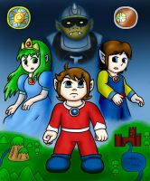 Alex Kidd in Miracle World by hotcheeto89