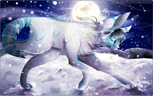 Snowfall - Galaxaes Art Trade by FeIinae