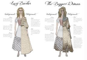 Sweeney Todd designs - Lucy / Begger Woman by Rachyf1