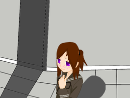 Akane Waiting by yaoilover998