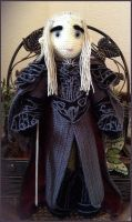 King Thranduil doll warrior: Ready for the battle by Ysydora