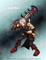.hack//G.U. - Haseo - Terror of Death by BrandyWoods