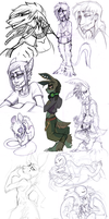 Sketch dump 46 by LiLaiRa
