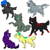 Puppy Adopts 5 by AlysAdoptables