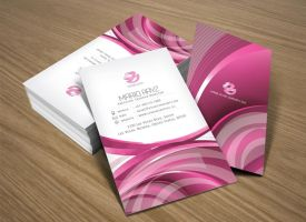 Pink Parlour Business card 01 by Lemongraphic