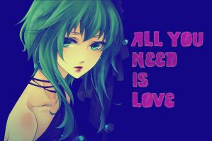 Gumi - All you need is love by iamglee