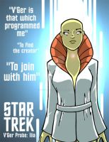 Star Trek: V'Ger Probe: Ilia by Sideways8Studios