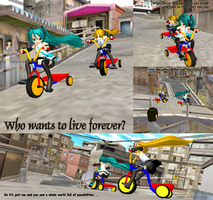 MMD Who wants to live forever? by Trackdancer