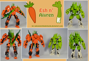 Esh and Aivren: Operation Vegetable by welcometothedarksyde