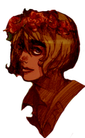 Armin flowered general by clockwork-moon
