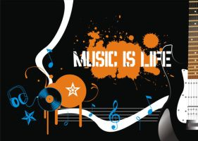 No music, No life by moonlightwatcher