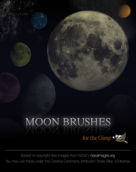 Moon Brushes by pookstar