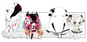 [CLOSED]ADOPT AUCTION 201 - Shadowmonster by Piffi-adoptables