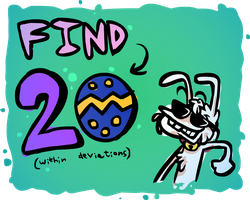 THE EASTER EGG SEARCH by DevianJp824