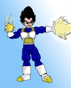 Vegeta by CycKath